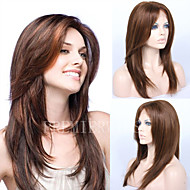 Premierwigs Fashion Straight Indian Remy Full Lace Wigs Silk Base Lace Front Wigs With Baby Hair Natural Hairline