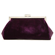 Women Other Leather Type Event/Party Evening Bag / Checkbook Wallet Purple