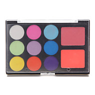 11 Eyeshadow Palette Shimmer Eyeshadow palette Pressed powder Normal Daily Makeup / Halloween Makeup / Party Makeup