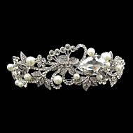 Women's Lace / Rhinestone / Alloy Headpiece - Wedding / Special Occasion Headbands 1 Piece