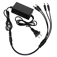 DearRoad Details about  12V 5A AC/DC US Plug Adapter Power Supply CCTV Camera 4 Port Splitter