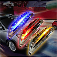 Solar LED Warning Lamp Anti-Theft Anti-Collision Warning Lamp Side Lights Marker Turn Signal Light  2PCS