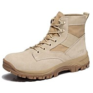 Men's Shoes Outdoor / Office & Career / Party & Evening / Athletic / Casual Suede Boots Black / Yellow / Gray