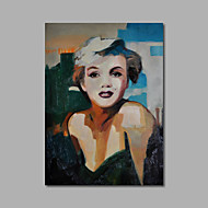 Hand-Painted Oil Painting on Canvas Wall Art Pop Art Marilyn Monroe Nude One Panel Ready to Hang