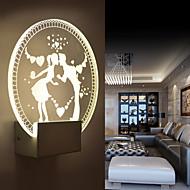 Lâmpadas de Parede LED / Lâmpada Incluída Moderno/Contemporâneo Metal