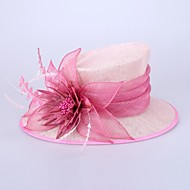 Women's Flax Headpiece-Wedding / Special Occasion Hats 1 Piece