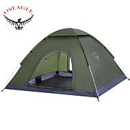 OSEAGLE® 2 Personen Zelt Einzeln Automatisches Zelt Einzimmer Camping Zelt 2000-3000 mmFeuchtigkeitsundurchlässig Wasserdicht