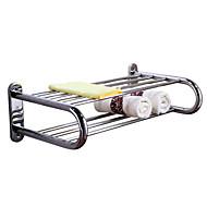 HZ®Bathroom Shelves / Towel Warmer , Contemporary Mirror Polished Wall Mounted HZ-910