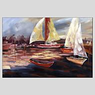 dipinti ad olio vista mare moderno, materiali tela con struttura allungata pronta per essere appesa formato: 60 * 90cm.