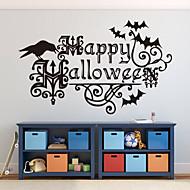 o dia das bruxas adesivos de parede arte decalques decoração de Halloween