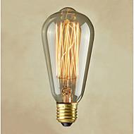 ampoule à filament vintage rétro e27 artistique incandescence industrielle 40w