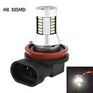 h8 H11 30smd 4014 5W 620lm 6000-6500k hvitt lys med høy effekt LED pære for bil lamper (dc10-30v)