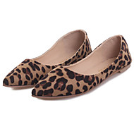 Women's Shoes Flat Heel Pointed Toe Flats Casual Black/Gray/Animal Print
