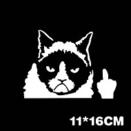 Funny Grumpy Cat Car Sticker Car Window Wall Decal Car Styling
