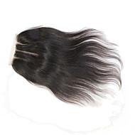 """8"""" 10"""" 12"""" 14"""" 16"""" 18"""" 20"""" 22"""" 24"""" Dentelle complette Droit (Straight) Cheveux Rémy Fermeture Brun roux Dentelle Suisse 60 grammeTaille"""