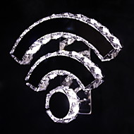 Ecolight® WIFI Crystal Led/Wall Sconces Crystal/LED Modern/Contemporary/Bed/Living/Hotel/Metal