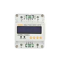 ghds100e trilho DIN fase única família medidor de energia contador de horas watt elétrica metros monofásicos medidor de energia metros