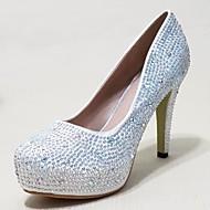 Women's Shoes Glitter Stiletto Heel Heels Pumps/Heels Wedding/Party & Evening/Casual Silver