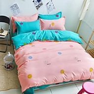 Smiling Face Bedding Set Of 4pcs In Many colors Polyester