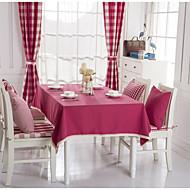 1 Coton mélangé Nappes de table
