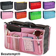 여성의 여행 휴대용 다기능 메쉬 화장품 화장품 가방 저장 핸드백 주최자 (8 색상 선택)