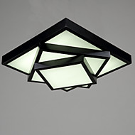 Montage de Flujo ,  Moderno / Contemporáneo Pintura Característica for LED Metal Sala de estar Dormitorio Comedor Sala de niños Hall
