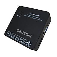 hosafe ™ mini nvr8 ONVIF mini 8 csatornás 1080 IP kamera DVR 720p NVR HDMI / VGA kimenet