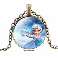 Necklace Pendant Necklaces Jewelry Daily / Casual Fashionable Alloy Silver 1pc Gift