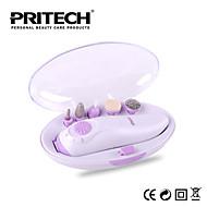 marca pritech sistema de mini pedicure manicure definir ferramentas de unhas unha polonês transportadora ferramenta instrumento unha