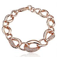 18K Gold Plated Crystal Bracelet