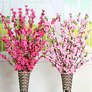 A Bunch Of  Fork Polyester Others / Baby Breath Peach Blossom Artificial Flowers