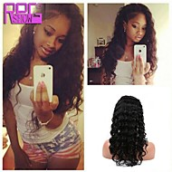 Brazilian Virgin Human Hair 130% Density Curly Hair Full Lace Wig With Baby Hair