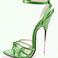 נעלי נשים - סנדלים - דמוי עור - עקבים - שחור / ירוק / אדום / לבן / זהב - מסיבה וערב - עקב סטילטו