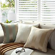 Bavlna / Polyester Polštář s výplní , Pruhovaný Módní a moderní / tradiční / Země / Neformální / tradiční klasika / Zvýraznění / dekorace