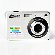 """amkov fotocamera digitale cdc3 16.0MP LCD da 2,7 """"dello schermo 550mAh al litio fotocamera digitale hd batteria"""