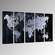 Sažetak Pejzaž Fantazija Slobodno vrijeme Photographic Patriotic Moderna Romantični Karte Pop art Putovanje Pet ploha Vertikalno Zid dekor