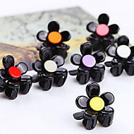 Women Diamond Shining Flower Mini Hairpin