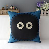 "43cm*43cm 17""*17"" Totoro Cotton / Linen Cotton&linen Pillow Cover / Throw Pillow With No Insert"