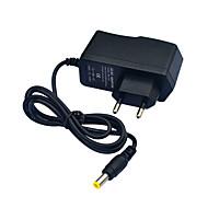 jiawen 110 ~ 240V hogy DC12V 1A tápegység adapter átalakító transzformátor - fekete (EU Plug)