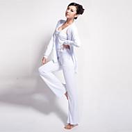 Yoga Pakken/Kledingsets Broek + Tops Ademend / wicking / Lichtgewicht materiaal Rekbaar Sportkleding Dames - LefanYoga / Pilates /