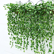 9 Bifurcate/Bouquet Boston Ivy Leaf Rattan(2 Bouquet)
