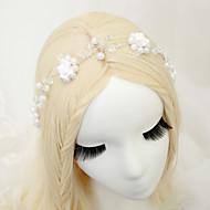 Women's Rhinestone / Alloy / Imitation Pearl / Polyester Headpiece - Wedding / Special Occasion Headbands 1 Piece