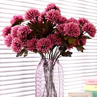3 Head/Branch Lifelike Chrysanthemum Artificial Flower