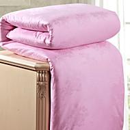 Cotton Bedding Jacquard 100% Natural Silk Quilt Spring/Autum Comforter Silk Net Weight 2500g White / Pink / Beige