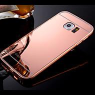 Varten Samsung Galaxy kotelo kotelot kuoret Pinnoitus Peili Takakuori Etui Yksivärinen Kova PC varten SamsungS8 S8 Plus S7 edge S7 S6