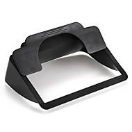 """clip-on zonnescherm visor voor 6 """"scherm auto gps navigatie zwarte hoge kwaliteit"""