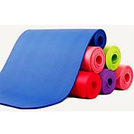 NBR Tapis de Yoga 183*61*1/183*61*1.5 Non Toxic 10 / 1.5 Rose / Rouge / Bleu / Vert / Violet / Noir Also Kang