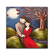 iarts®cartoon persone canvas abbraccio pittura pittura