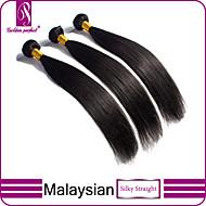 Hiukset kutoo Malesialainen Straight 3 osainen hiukset kutoo