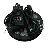 5m ha condotto 600x3528 SMD bianco rosso caldo luce di striscia e connettore e AC110-240V a dc12v6a eu noi au uk trasformatore